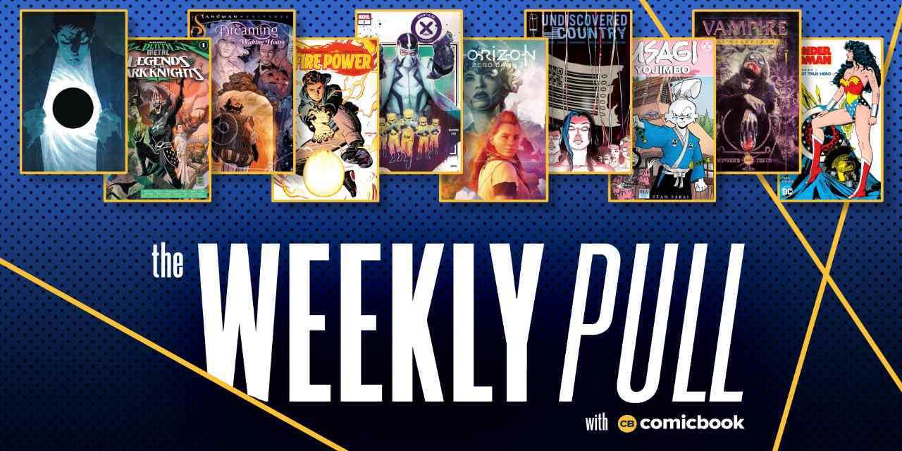 weekly pull week of august 5th