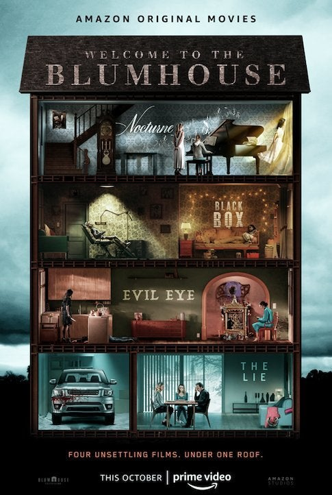 welcome to blumhouse poster movies