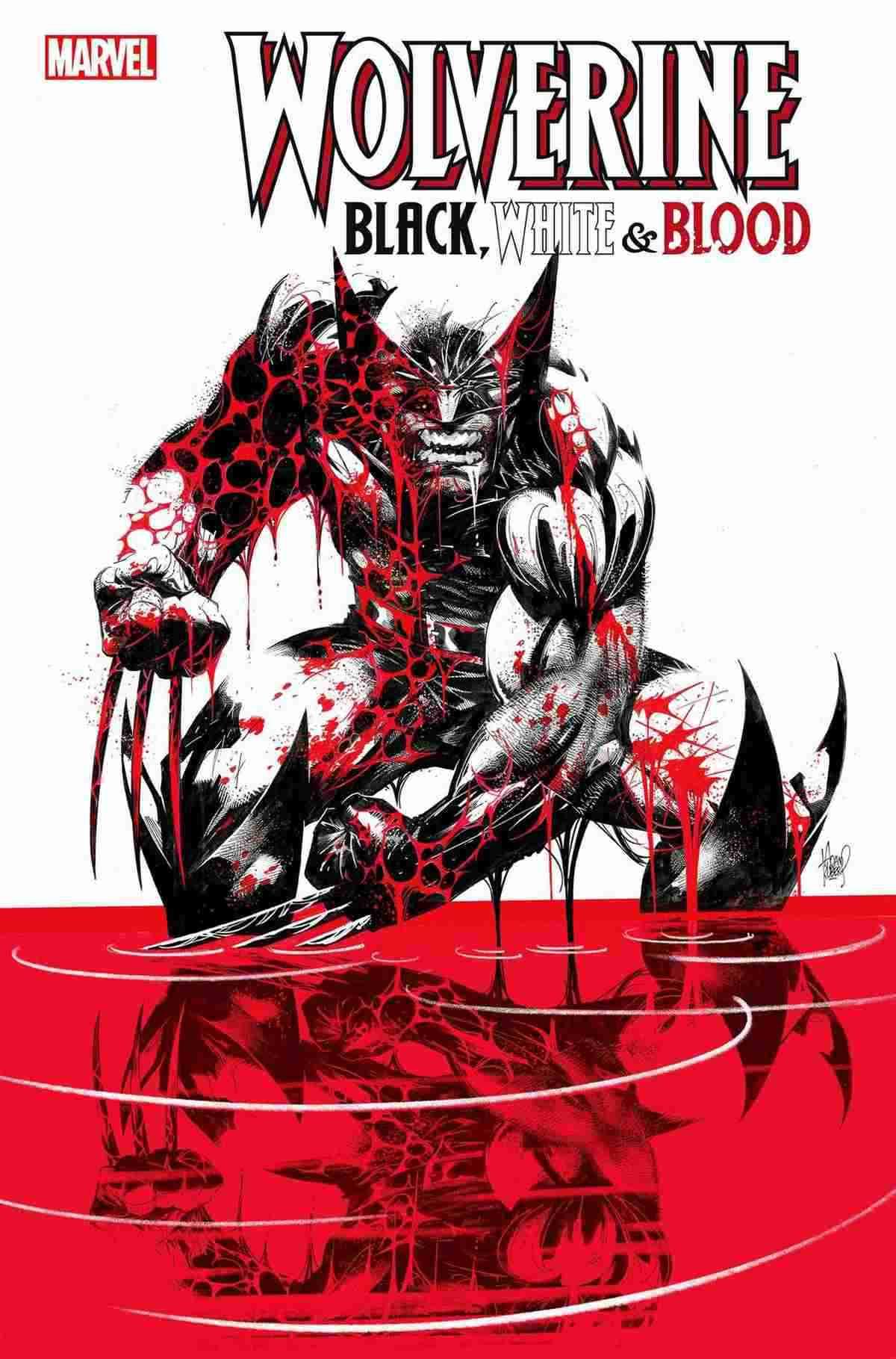 Wolverine BlackWhite and Blood 001