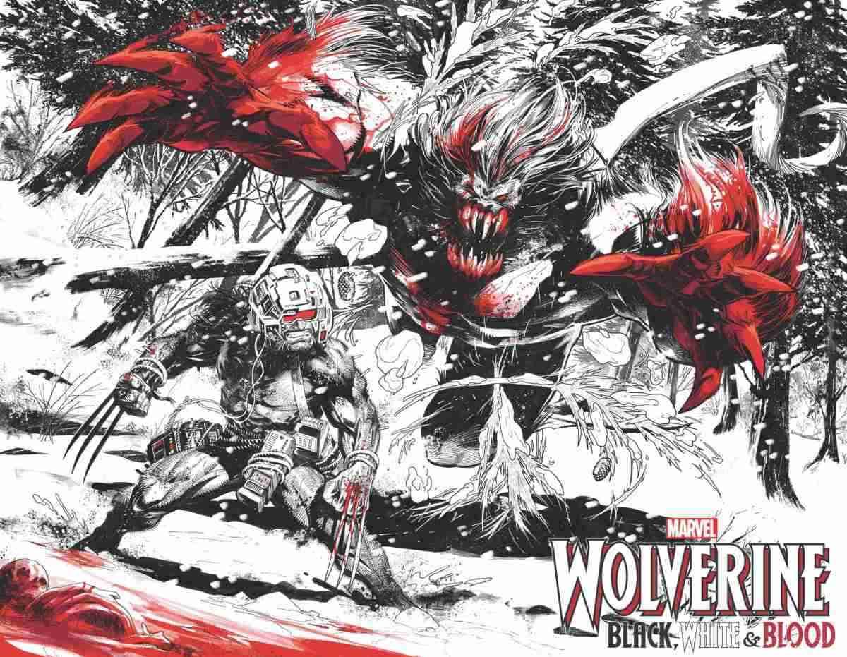 Wolverine BlackWhite and Blood 002