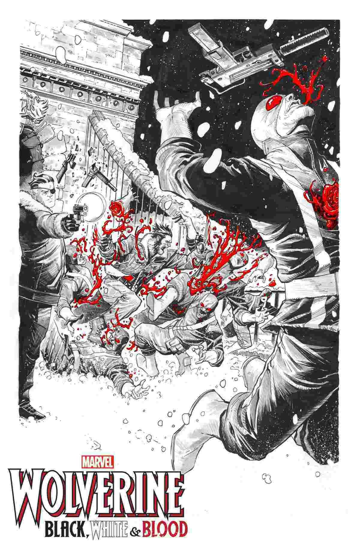 Wolverine BlackWhite and Blood 004