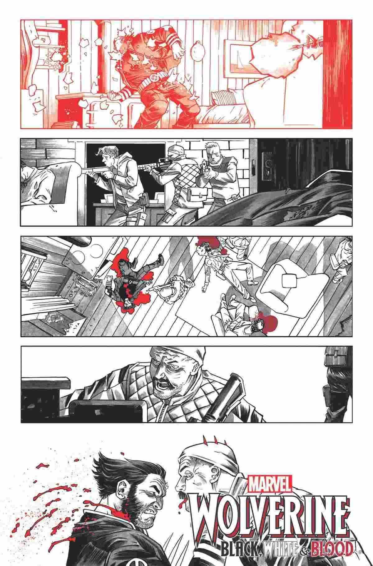 Wolverine BlackWhite and Blood 005