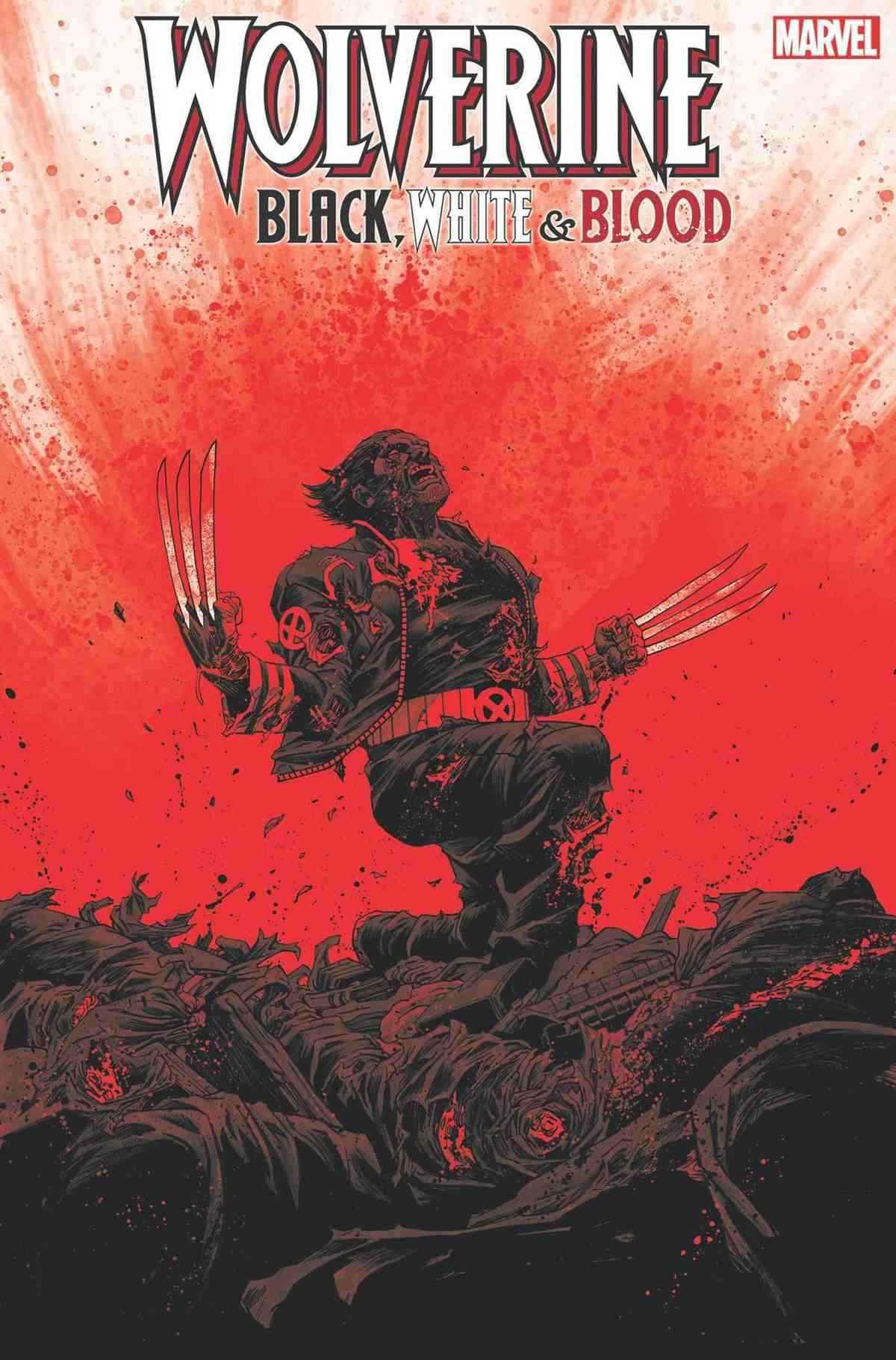 Wolverine BlackWhite and Blood 006
