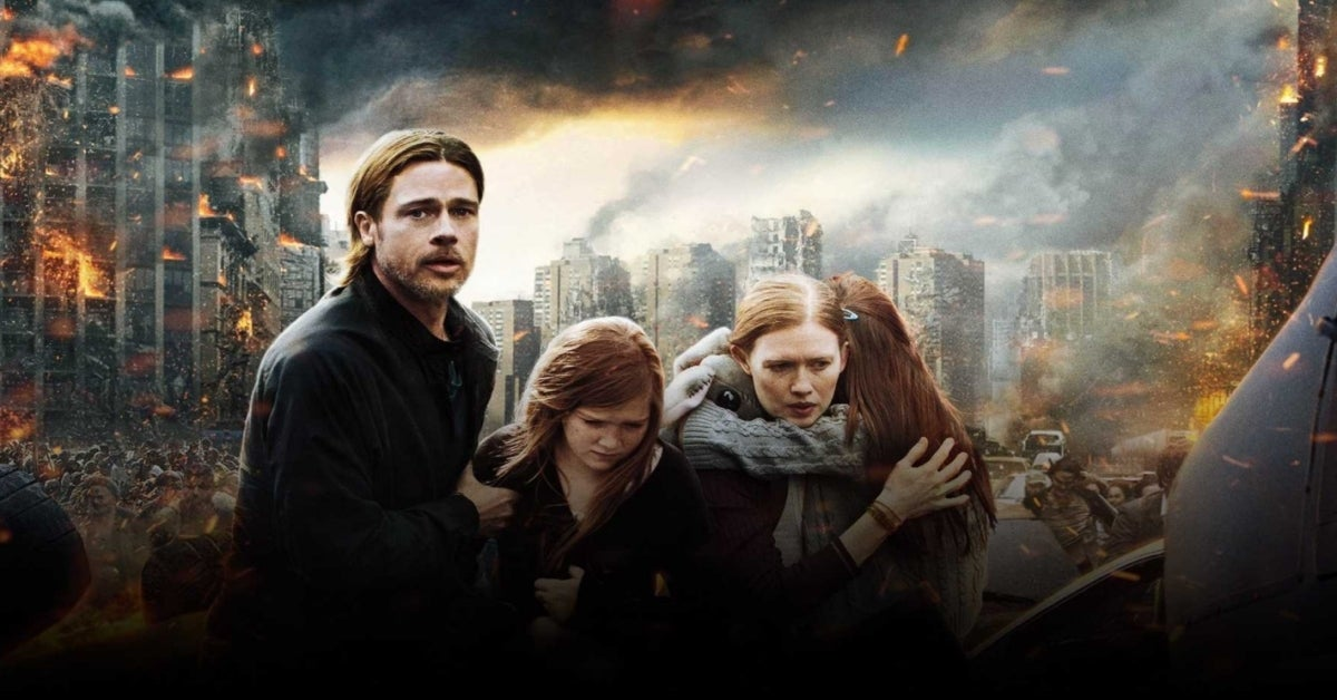 World War Z Movie Brad Pitt Mireille Enos