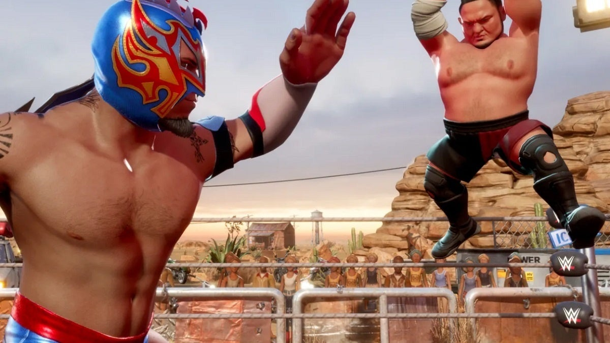 WWE 2K Battlegrounds Gamescom Trailer