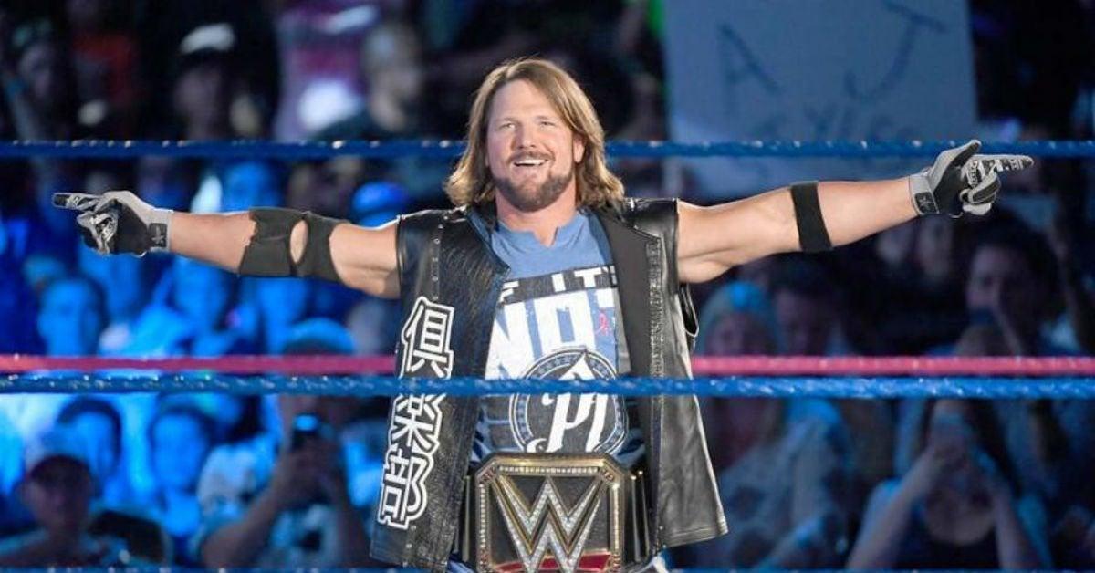 WWE-AJ-Styles-WWE-Champion