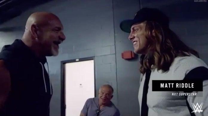 WWE-Goldberg-Matt-Riddle