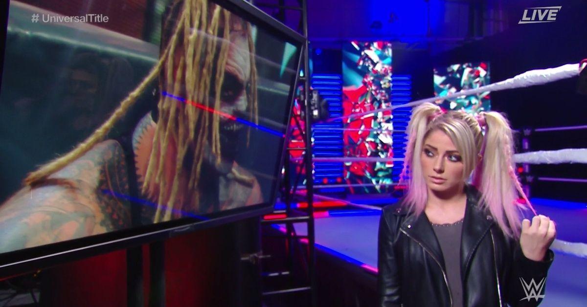 WWE Payback Bray Wyatt Alexa Bliss The Fiend Sister Abigail Tease