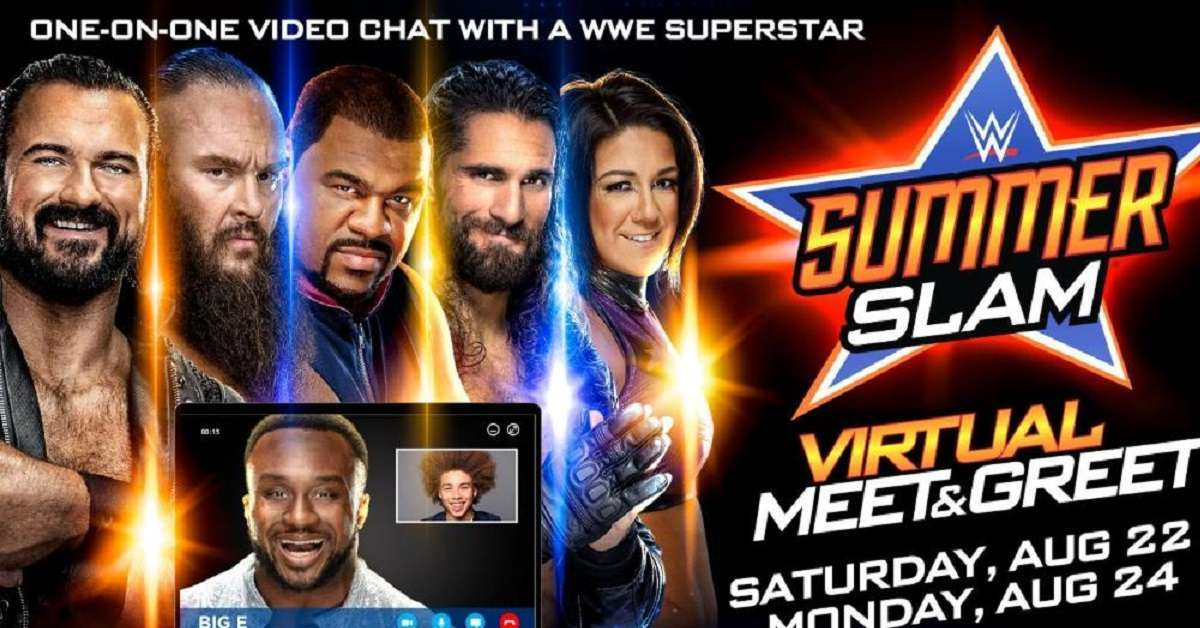WWE Summer Slam Meet & Greet
