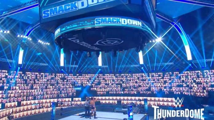 WWE-ThunderDome-Setup