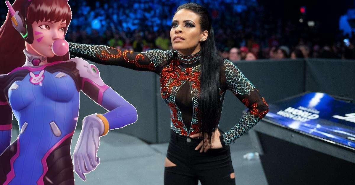 WWE Zelina Vega Overwatch DVA Cosplay