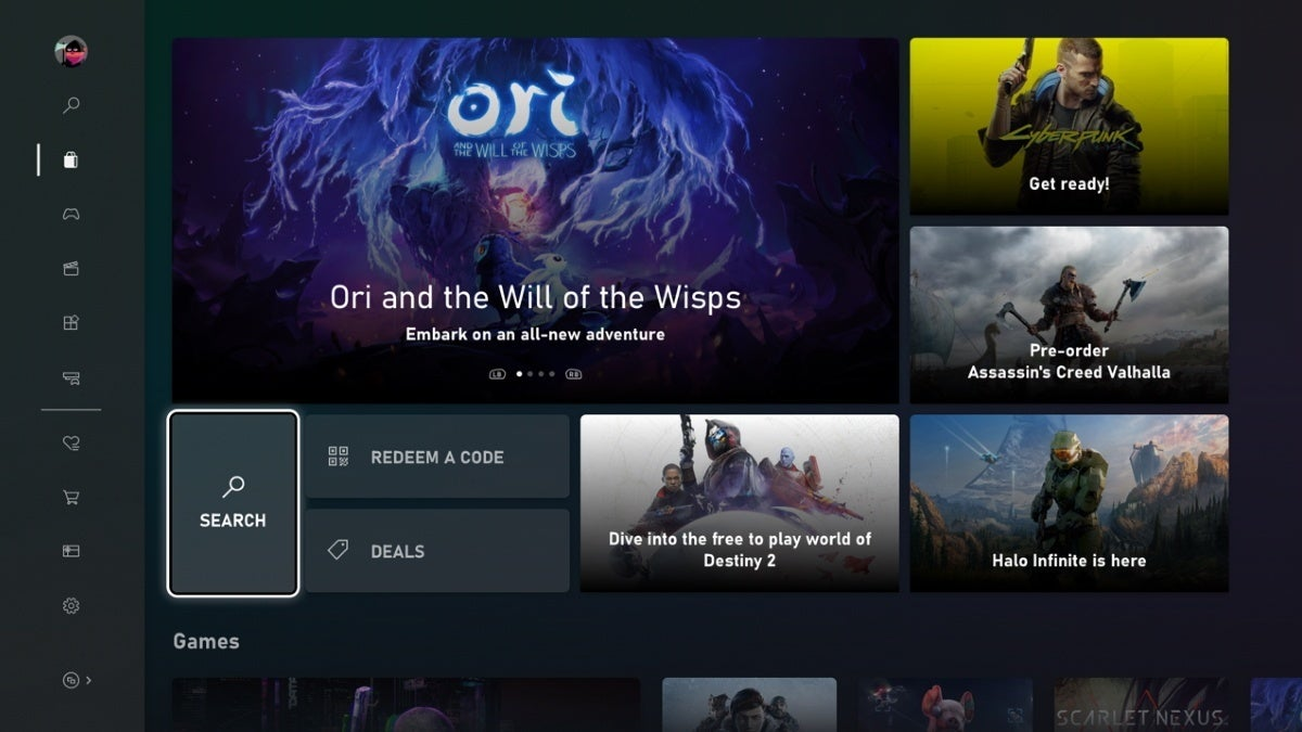 xbox microsoft store redesign new cropped hed
