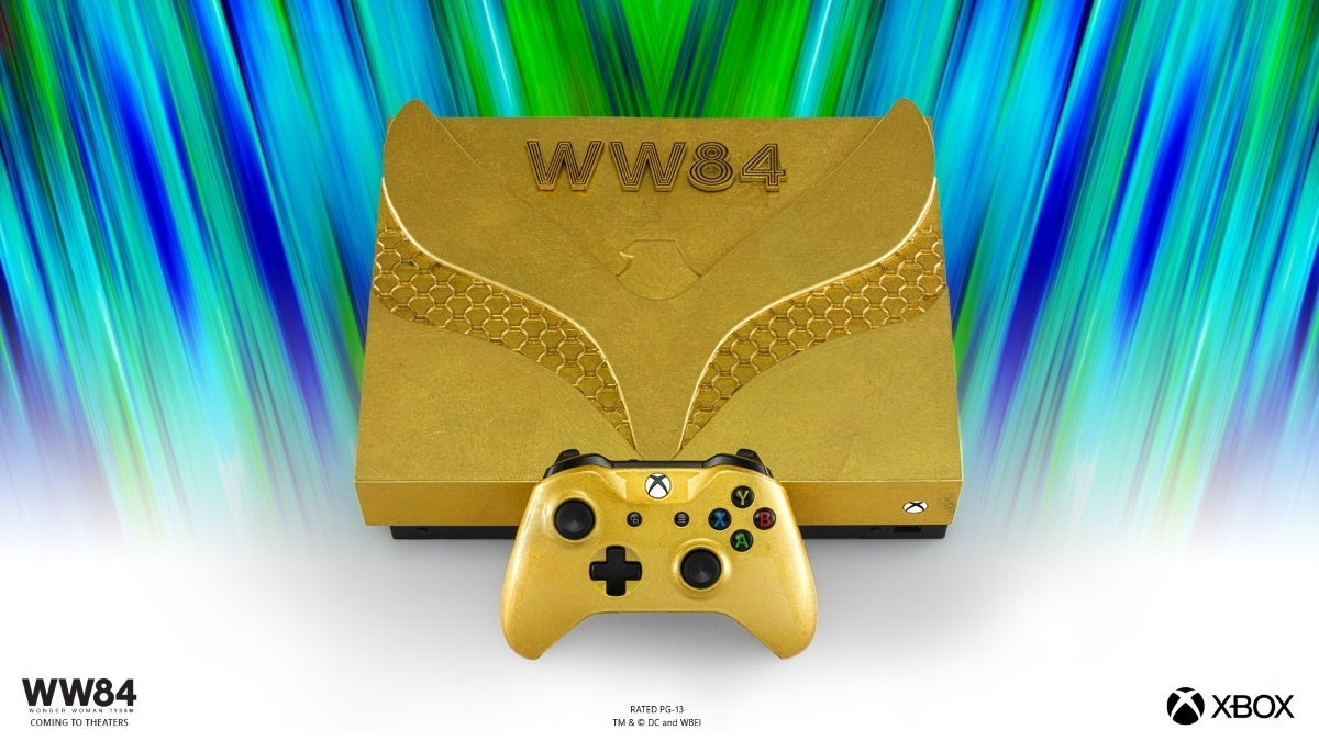 Xbox WW1984 - Golden Eagle Armor Xbox One X Console - 2
