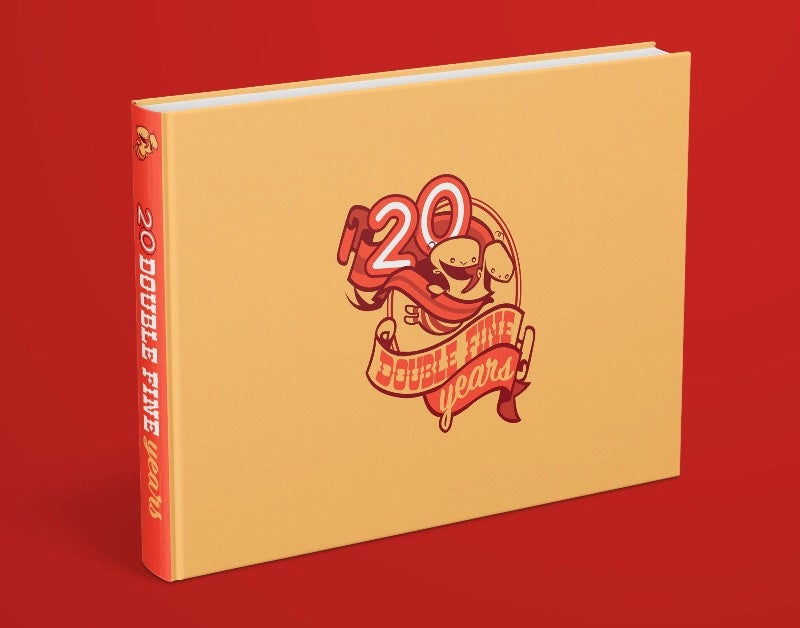 20 Double Fine Years book