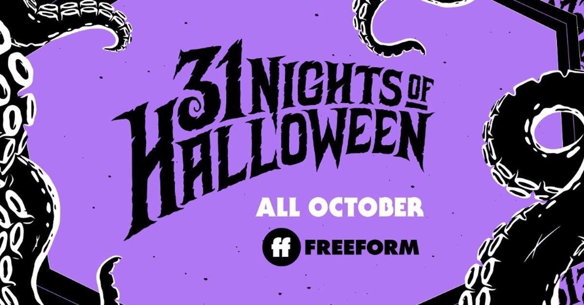 31 nights of halloween freeform schedule