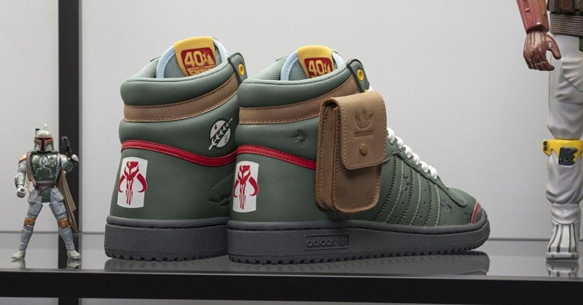 Adidas Star Wars Boba Fett Top Ten Hi