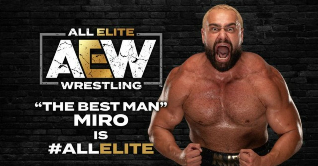 Miro Explains Why He Chose to Sign With AEW