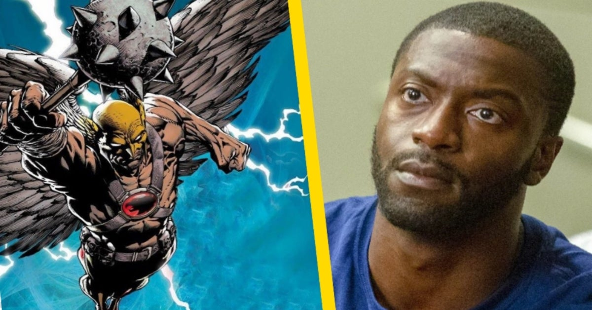 Aldis Hodge Hawkman Black Adam