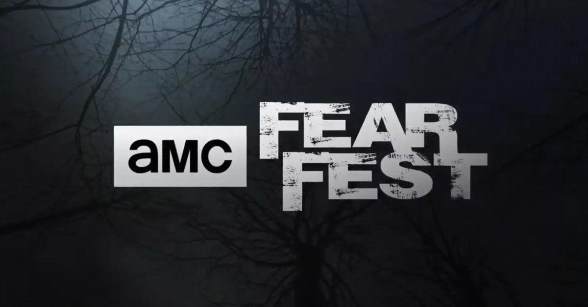 amc fearfest logo horror movies october