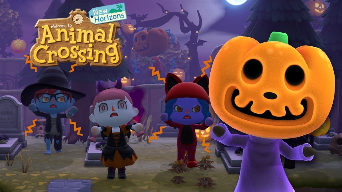 animal crossing new horizons halloween update new cropped hed
