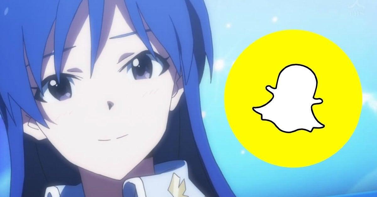 anime snapchat