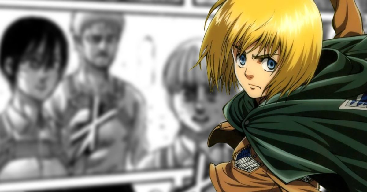 Attack on Titan Armin Promotion Survey Corps Commander Spoilers Manga
