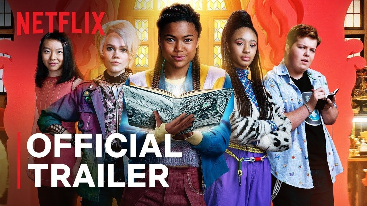 babysitters guide to monster hunting netflix movie