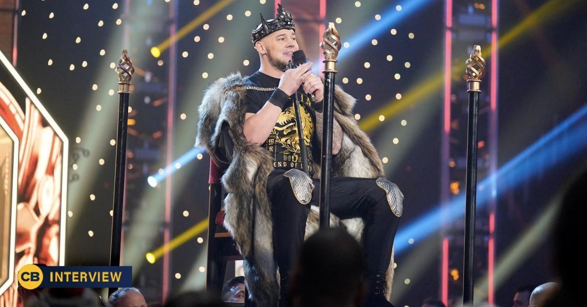 Baron Corbin WWE SmackDown Interview King Corbin Pandemic Difficulties