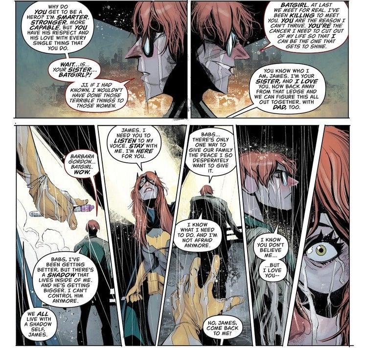 batgirl 49 james gordon jr death 1
