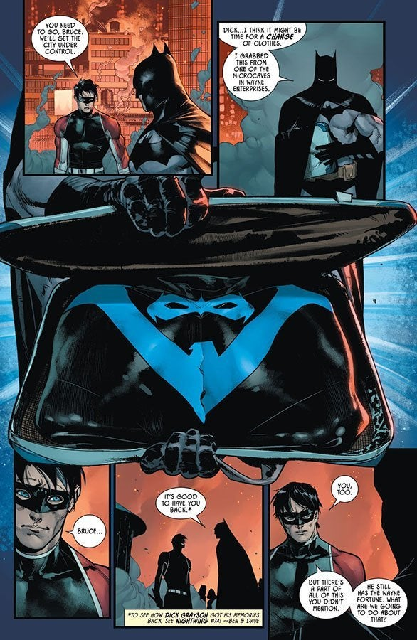 batman 99 dick grayson nightwing