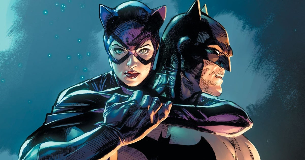 batman catwoman 1 cover