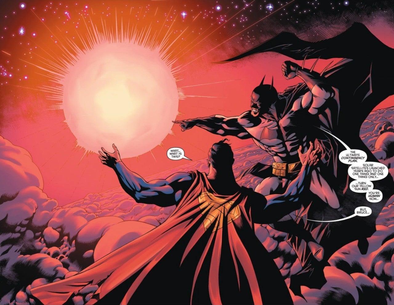 Batman Kills Superman Red Sun Satellites Annual 1