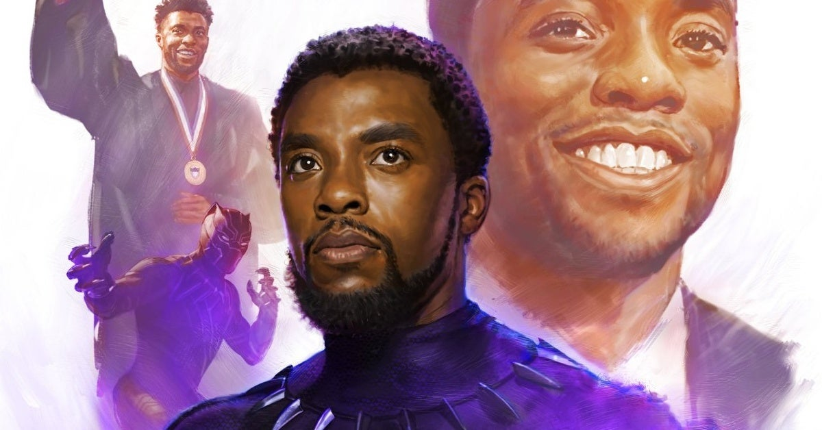 black panther chadwick boseman tribute marvel studios