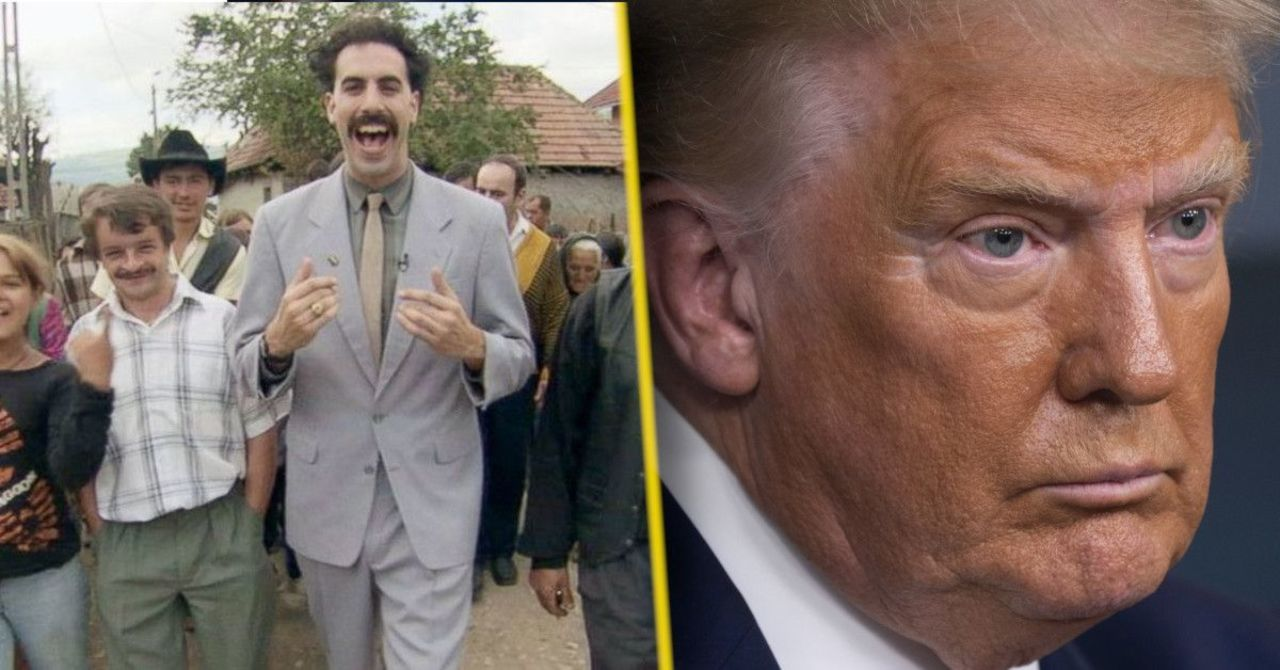 New Borat Video Shows His Daughter Infiltrating Donald Trump's White House