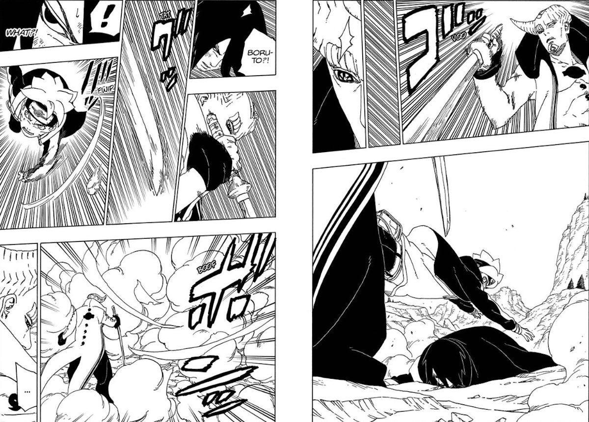 Boruto Manga 50 Spoilers Isshiki Sasuke Save Death