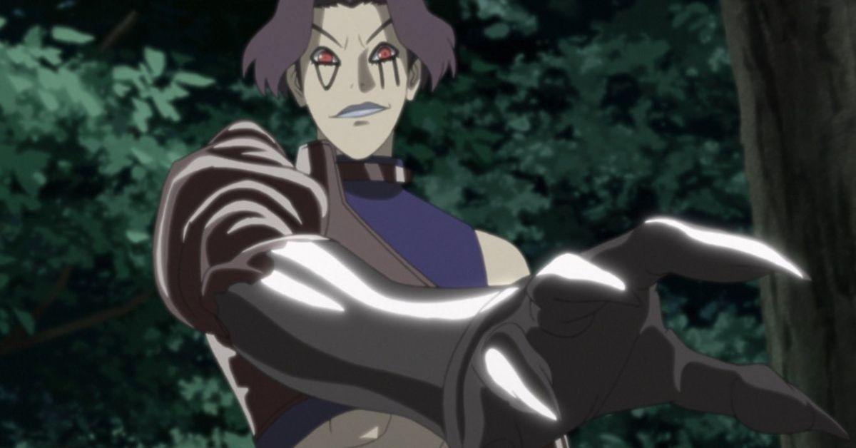 Boruto Naruto Deepa Secret Jutsu Kara Anime