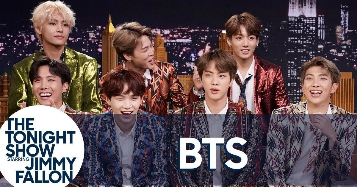 bts tonight show