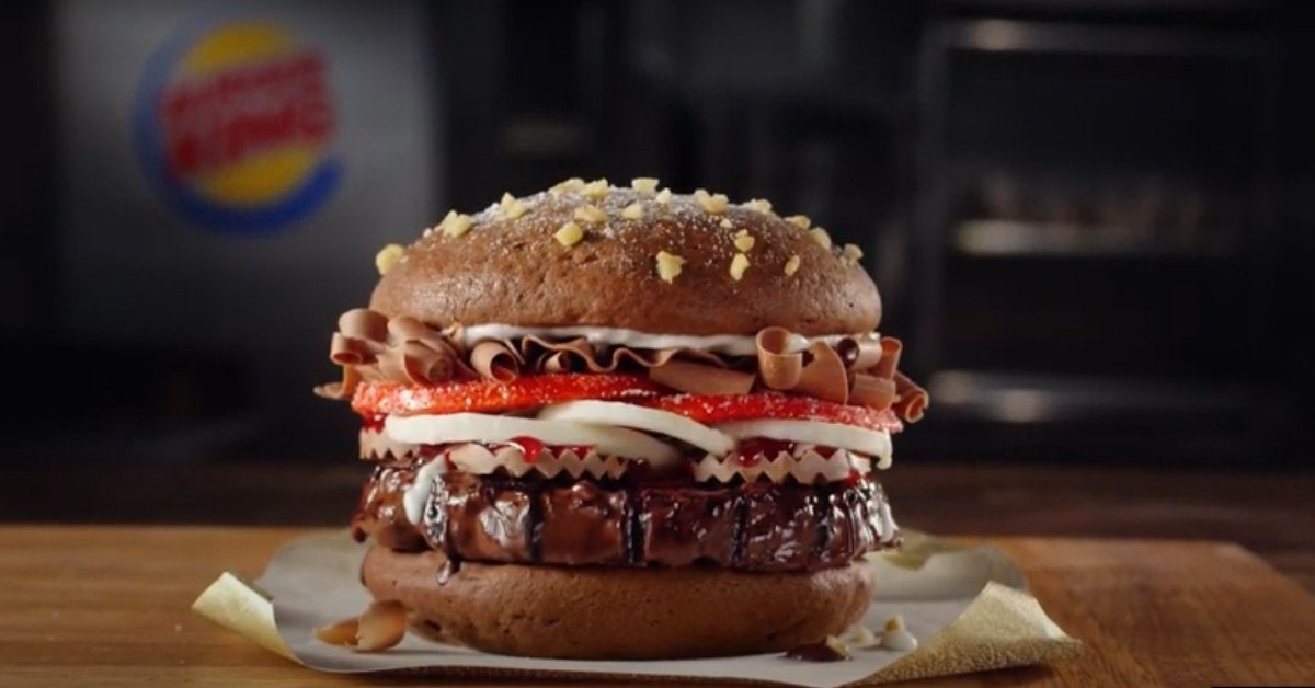 Burger King Chocolate Whopper Where to Buy 2020