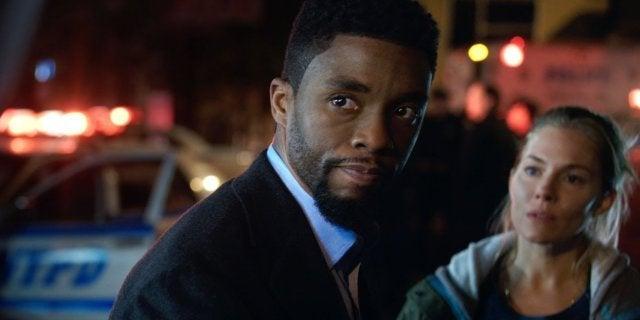 Chadwick Boseman Gave Sienna Miller Salary Equal Pay 21 Bridges Movie