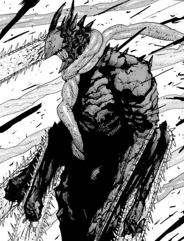 Chainsaw Man Denji New Form Upgrade Spoilers Manga Panel