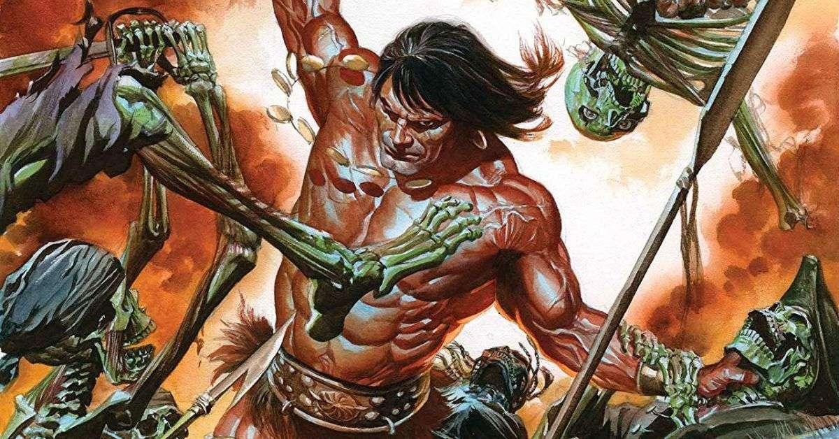 conan the barbarian netflix tv series