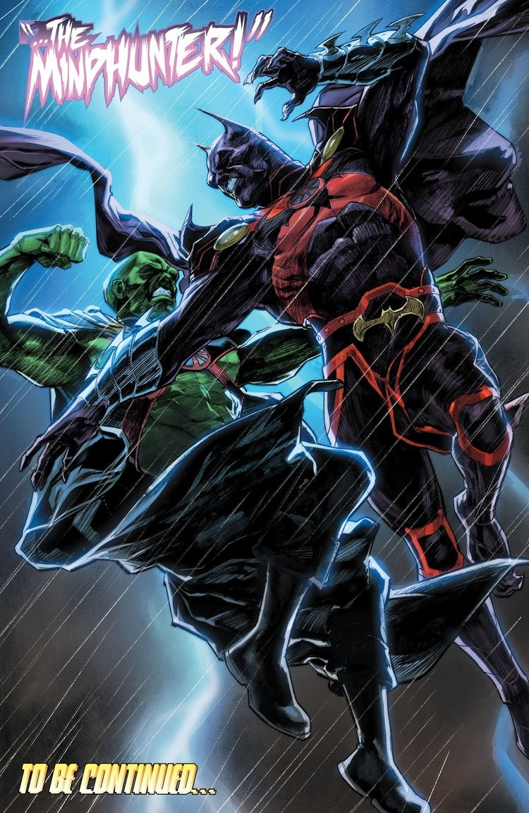 dark nights death metal justice league 53 dark mindhunter
