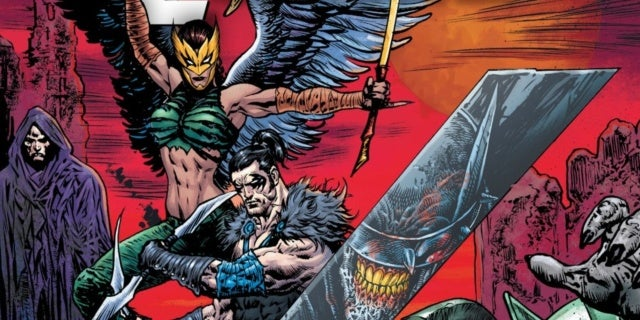 dark nights death metal justice league 53 nightwing hawkgirl