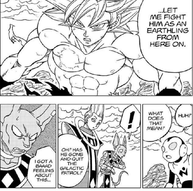 DBS Manga Bad Feeling