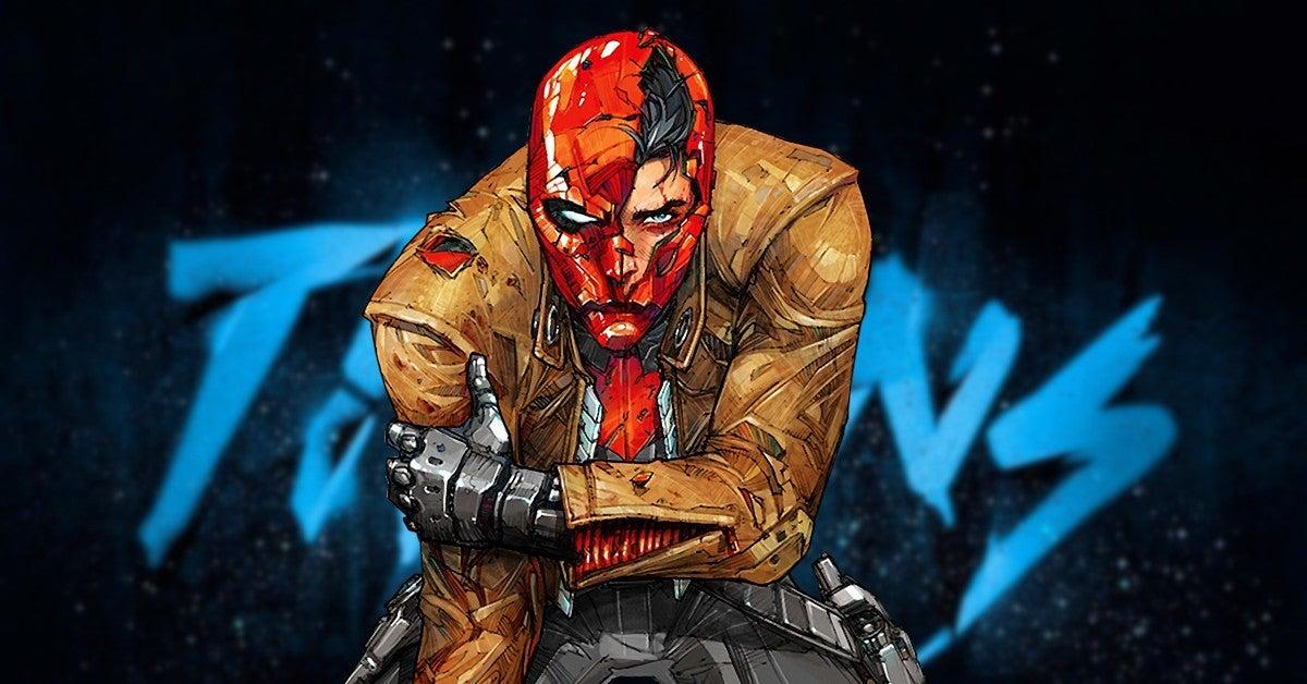DC Titans Curran Walters Red Hood Comics Teaser Photo