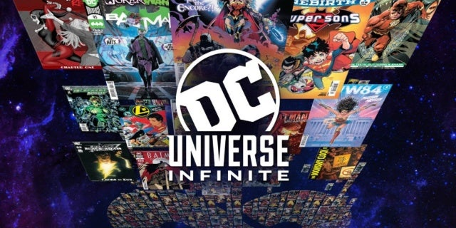 dc universe infinite logo
