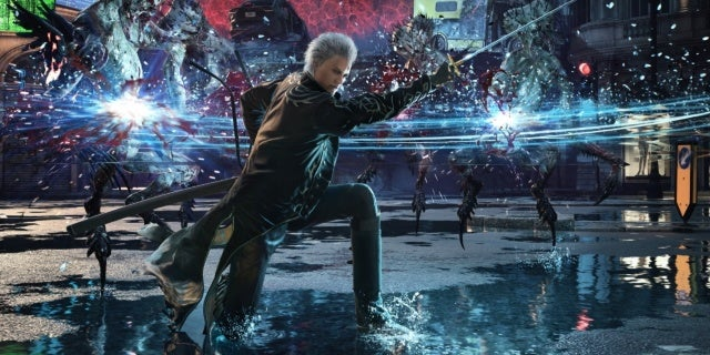 devil may cry 5 special edition vergil new cropped hed