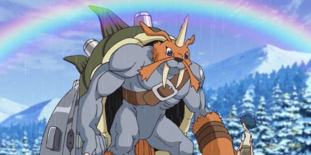 Digimon Adventure Gomamon Ultimate Evolution Zudomon Watch Anime