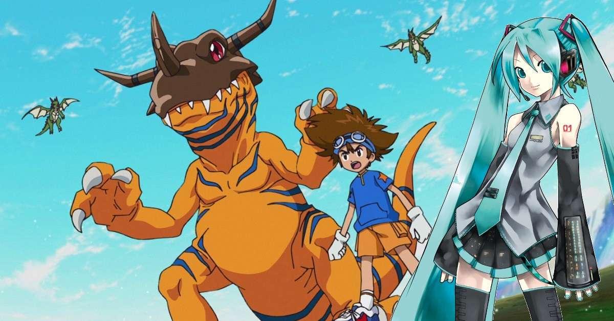 Digimon Adventure Hatsune Miko Nendoroid