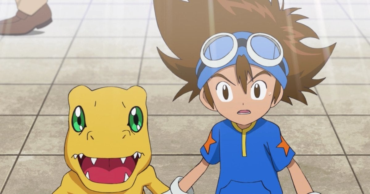Digimon Adventure Tai Agumon